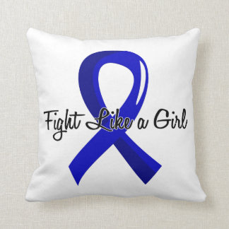 Fight Like A Girl Colon Cancer 41.8 Pillow