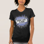 Fight Like a Girl Cool Button - Stomach Cancer T-shirts