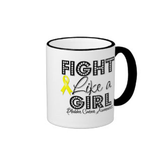 Fight Like a Girl Dazzling - Bladder Cancer Mugs