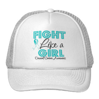 Fight Like a Girl Dazzling - Cervical Cancer Hat