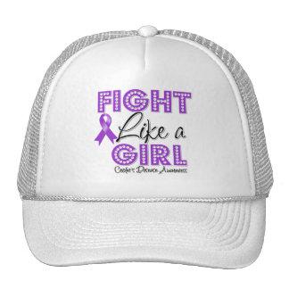 Fight Like a Girl Dazzling - Crohn's Disease Mesh Hats