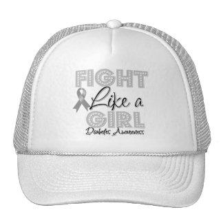 Fight Like a Girl Dazzling - Diabetes Trucker Hat