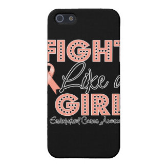 Fight Like a Girl Dazzling - Endometrial Cancer iPhone 5 Covers