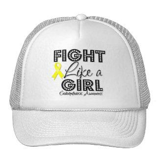 Fight Like a Girl Dazzling - Endometriosis Trucker Hats