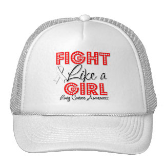 Fight Like a Girl Dazzling - Lung Cancer Hat