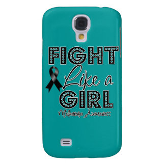 Fight Like a Girl Dazzling - Melanoma Galaxy S4 Cover