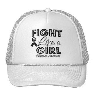 Fight Like a Girl Dazzling - Melanoma Mesh Hats