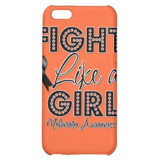 Fight Like a Girl Dazzling - Melanoma iPhone 5C Case