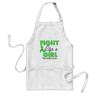 Fight Like a Girl Dazzling - Mental Health Adult Apron