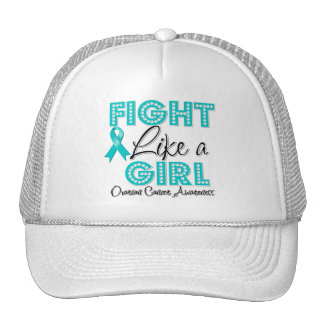 Fight Like a Girl Dazzling - Ovarian Cancer Hat