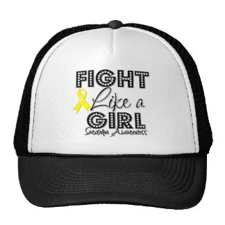 Fight Like a Girl Dazzling - Sarcoma Mesh Hats