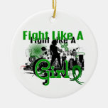 Fight Like A Girl Depression 30.8 Ornaments