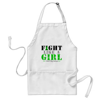 Fight Like a Girl Distressed - Cerebral Palsy Adult Apron