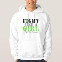 Fight Like a Girl Distressed - Lyme Disease Hoodie