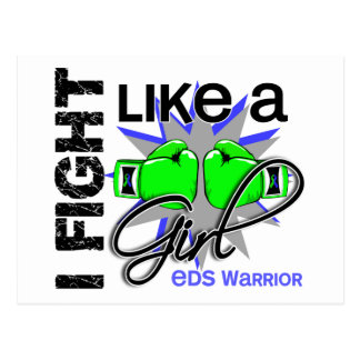 Fight Like A Girl EDS 13.2 Post Card