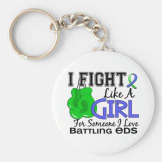 Fight Like A Girl EDS 15.6 Key Chain