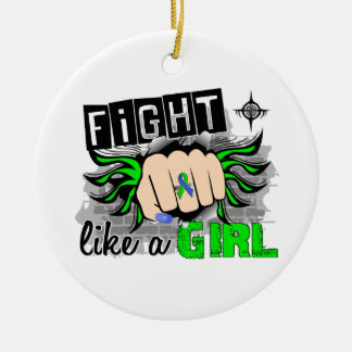 Fight Like A Girl EDS 27.8 Ornaments