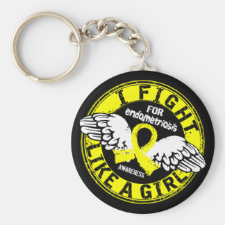 Fight Like A Girl Endometriosis 16 5 Keychain
