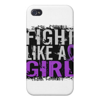 Fight Like a Girl Epilepsy 31.8 Covers For iPhone 4