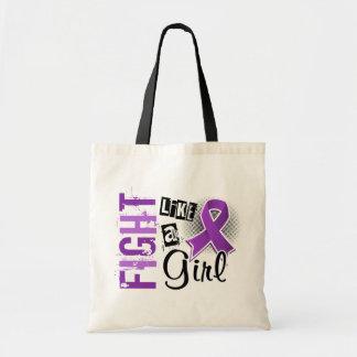Fight Like A Girl Epilepsy 36.8 Canvas Bag