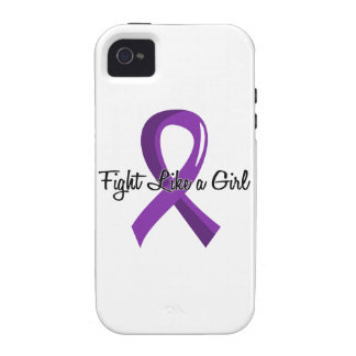 Fight Like A Girl Epilepsy 41.8 iPhone 4 Cover