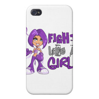 Fight Like a Girl Epilepsy 42.8.png iPhone 4/4S Covers