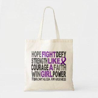 Fight Like A Girl Fibromyalgia 23.3 Tote Bag
