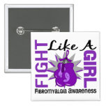 Fight Like A Girl Fibromyalgia 8.3 Buttons