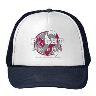 Fight Like a Girl Gloves - Head and Neck Cancer Hat