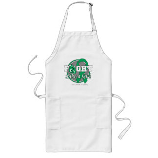 Fight Like a Girl Gloves - Liver Disease Apron