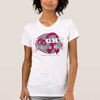 Fight Like a Girl Gloves - Multiple Myeloma Tee Shirts