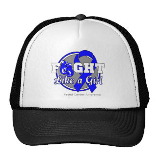 Fight Like a Girl Gloves - Rectal Cancer Hats
