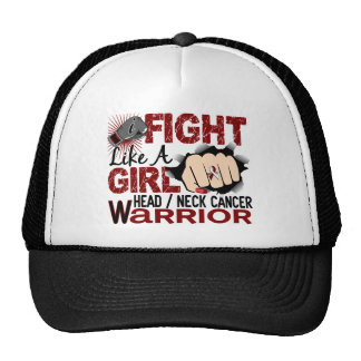 Fight Like A Girl Head Neck Cancer 20.2 Hat