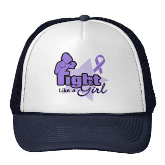 Fight Like a Girl - Hodgkin's Lymphoma Hat