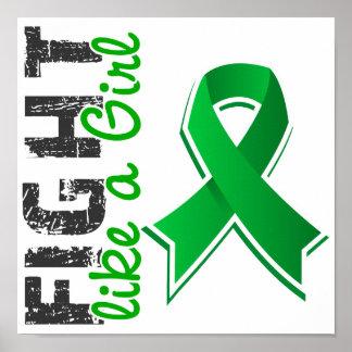 Fight Like A Girl Kidney Disease 28.8 Print