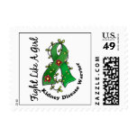 Fight Like A Girl Kidney Disease 29.4 Stamps