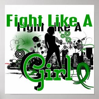 Fight Like A Girl Kidney Disease 30.8 Posters