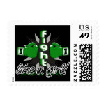 Fight Like A Girl Kidney Disease 32.8 Stamps
