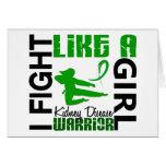 Fight Like A Girl Kidney Disease 3.2 Card