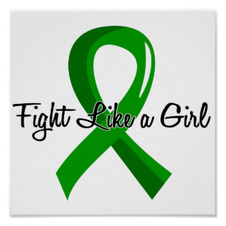 Fight Like A Girl Kidney Disease 41.8 Poster