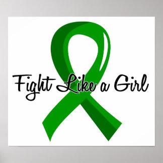 Fight Like A Girl Kidney Disease 41.8 Posters