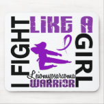 Fight Like A Girl Leiomyosarcoma 3.2 Mousepads