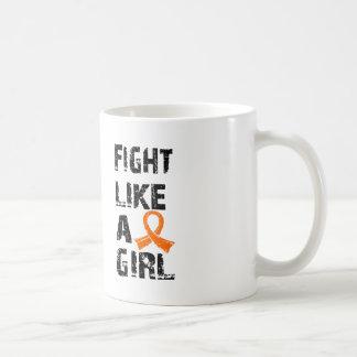 Fight Like A Girl Leukemia 21.8 Coffee Mug