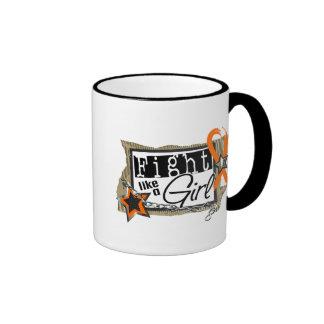 Fight Like A Girl Leukemia 24.8 Mugs