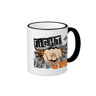 Fight Like A Girl Leukemia 27.8 Mugs