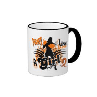 Fight Like A Girl Leukemia 35.8 Mugs