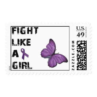 Fight Like A Girl Lupus Awareness Stamps