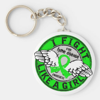 Fight Like A Girl Lyme Disease 16 5 Key Chains
