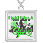 Fight Like A Girl Lyme Disease 30.8 Necklace