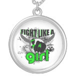 Fight Like A Girl Lyme Disease 33.8 Necklaces